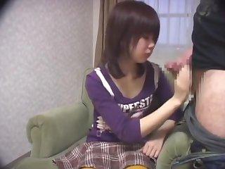 Exotic Japanese girl in Great JAV video, watch it
