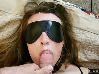 Submissive milf fucked by hubby with facial part 2
