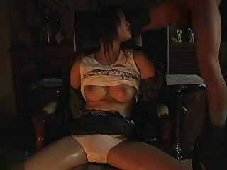 Fabulous adult scene Hogtied hottest only for you