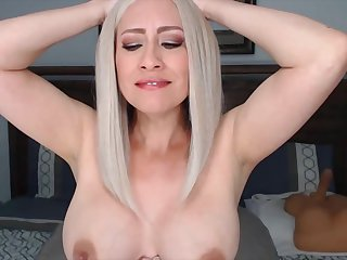 Hot Blonde Loves Playing On Her Live Cam