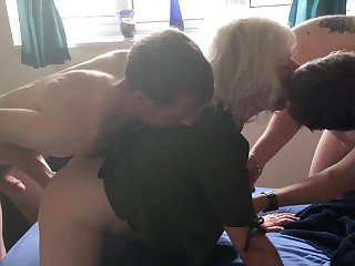 JULIET'S VERY FIRST DOUBLE PENETRATION - four FOUNTAINS, ALL FUCK HOLES