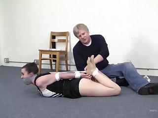 cheerleader peril - Fetish bondage