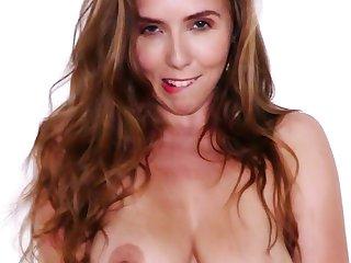 Sweet brunette Lena Paul enjoys getting fucked in the butthole