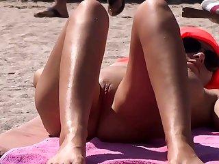 my niece caught masturbating on the beach