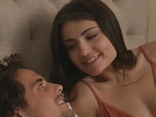 Young lovers Tyler Nixon and Adria Rae are making love like there's no tomorrow